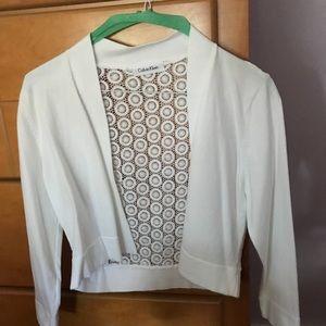 Calvin Klein shrug sweater size small